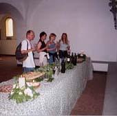 toskana, Volterra,Olivenölprobe