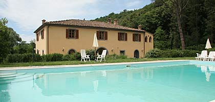 vacation villa tuscany