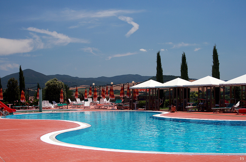Ferienhaus mit Pool, zwischen Pisa, Florenz, Siena