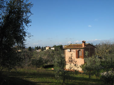 romantic holiday home Tuscany