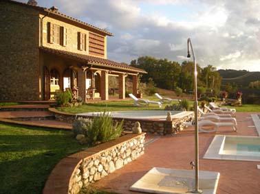 Toscana - Volterra, exklusives Ferienhaus mit Pool,  zwischen Pisa, Florenz und Volterra
