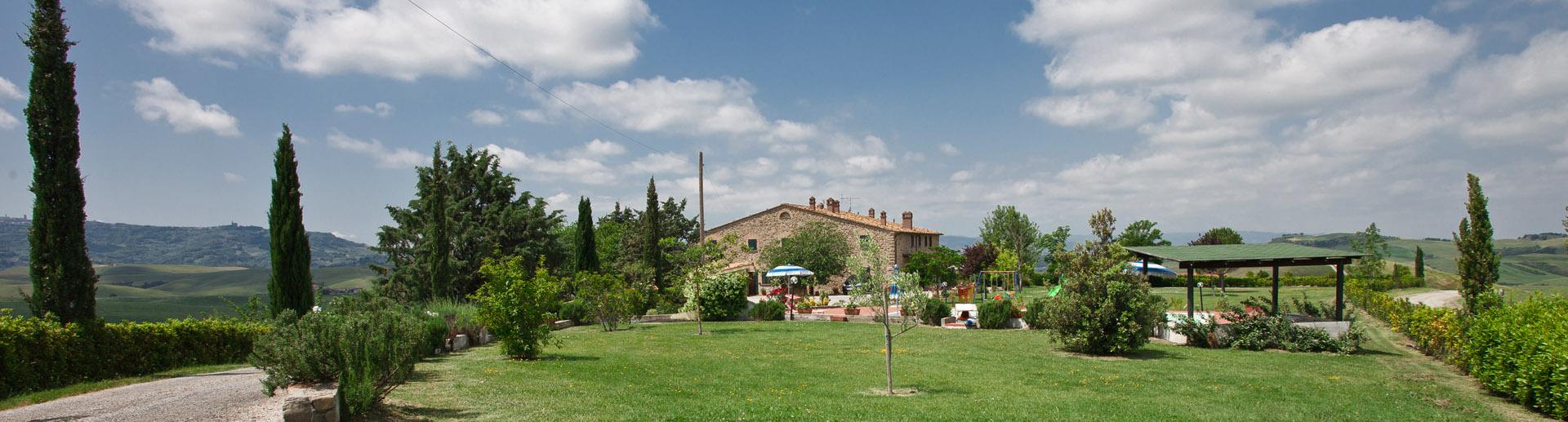 Toskana Volterra: Biobauernhof mit Ferienwohnungen