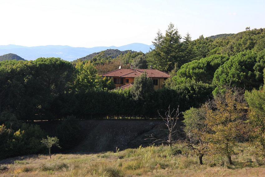 Toscane - côte étrusque: villa de vacances avec piscine pour 12 personnes, tous conforts