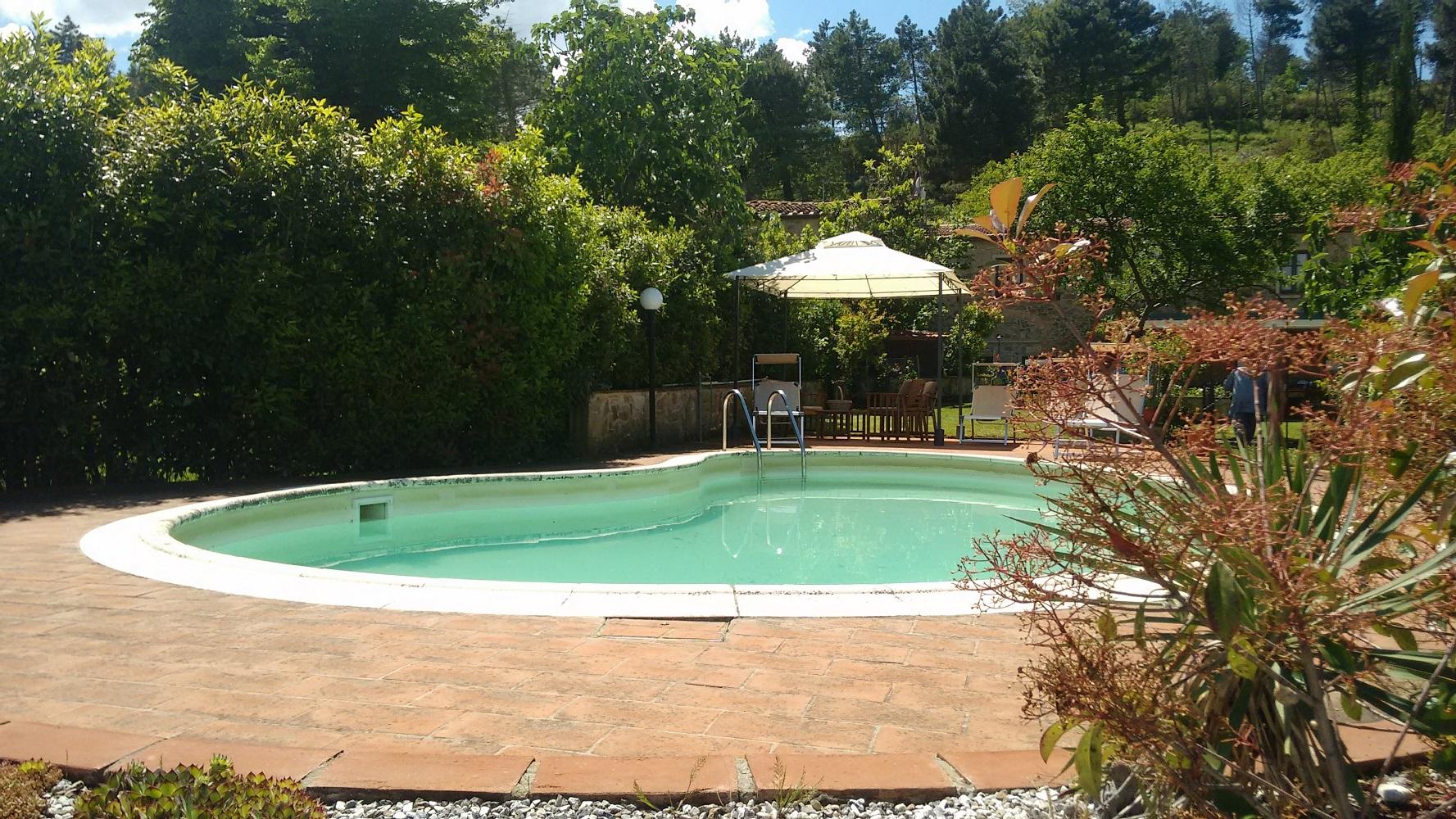 Ferienhaus mit Pool, Garten, auf dem Land Familienfreundlich, Haustiere erlaubt