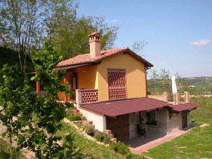 eingezäuntes Ferienhaus mit Pool. Peccioli Toskana