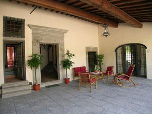 Florenz Toskana. kinderfreundlich Villa