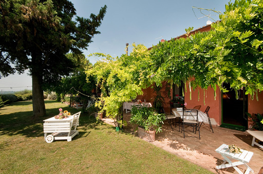 Garten in Meern�he, Etruskerk�ste