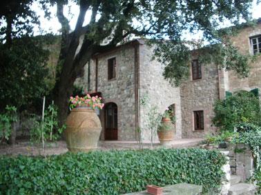 Toscana - Orciatico, stilvolles Ferienhaus mit Pool,  zwischen Pisa, Florenz und Volterra