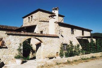 Chiantigebiet, Toskana  Ferienhaus für 8 Personen mit privatem Pool