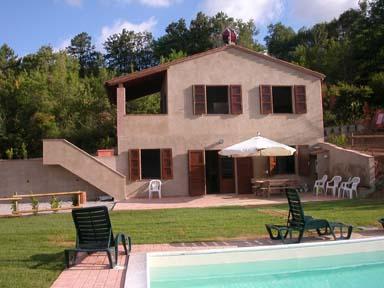 Villa toscane , cote etrusque