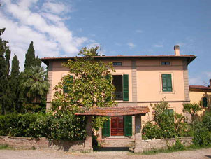 location villa, pise