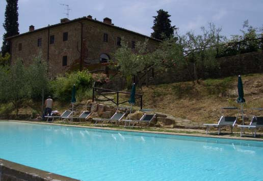 Toskana - Chianti Classico, Siena / Florenz:, B&B, bed and breakfast, studios und appartments