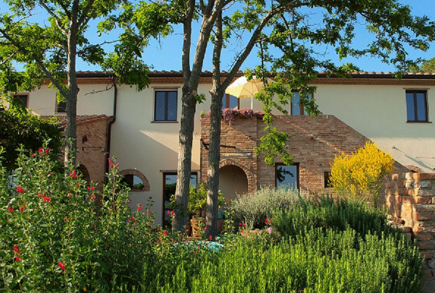 Stilvolle Ferienwohnungen mit Garten
