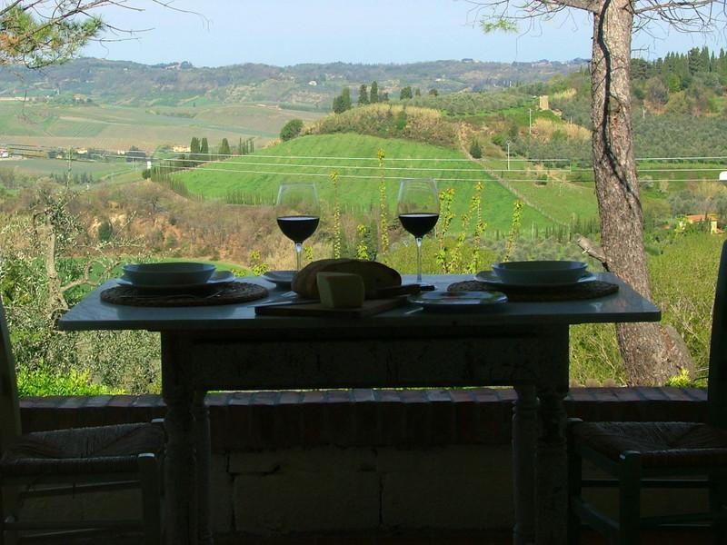 Ideal gelegen zwischen Florenz und Pisa, zauberhafte Ferienwohnung