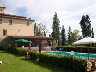 villa pool toskana, toscane
