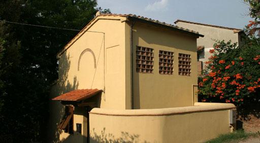 Toscana Pisa / Florenz / Volterra: kleines Ferienhaus am Ortsrand, Terricciola