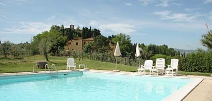 wine estate with vacation homes , tuscany