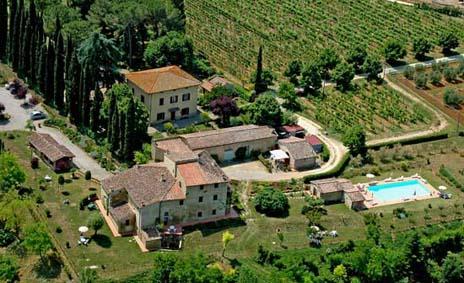 Toskana - Chianti Classico, Siena ,  San Gimignano: Ferienwohnungen auch tageweise Vermietung und Frühstück möglich