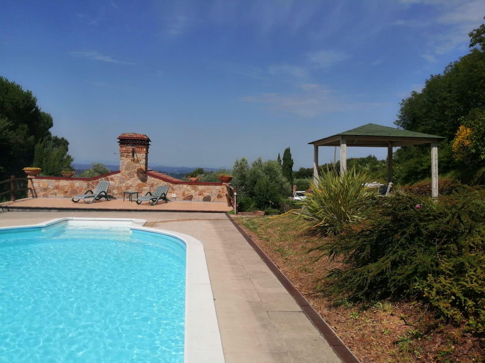 ferienhaus, toskana mit privatem Pool